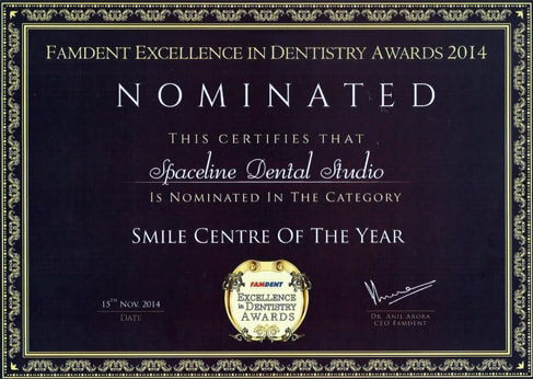 best orthodontist in Mumbai award