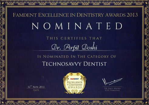 Top Dental Clinics in Mumbai Award